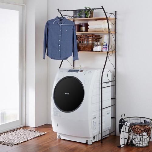 洗濯機ラック おしゃれ